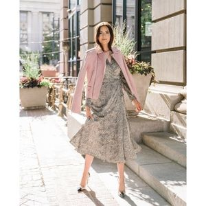 Rachel Parcell satin dress